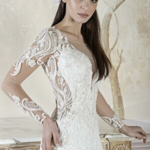 abito sposa aderente